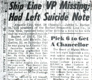 Ship Line VP left note