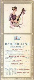 Barber burgee & guitar