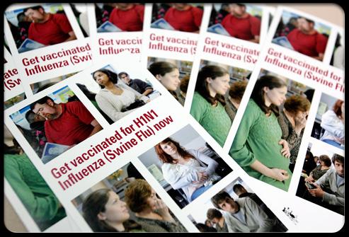 H1N1 vaccine propaganda