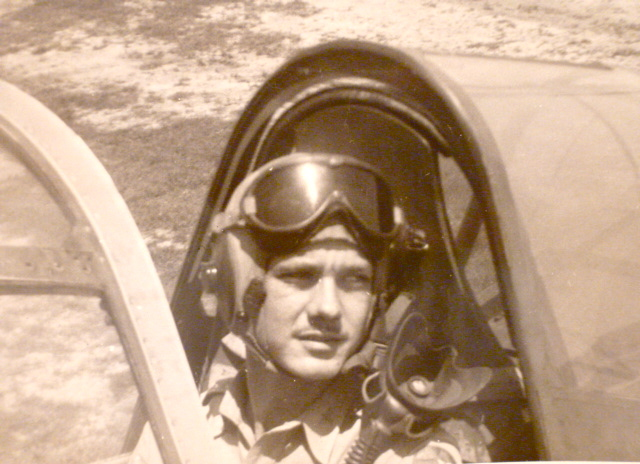 He was an Air Force Pilot during the Korean conflict - Version 2